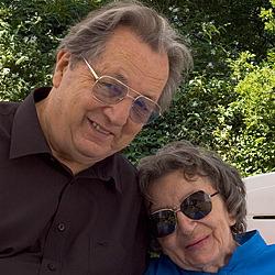 André Poueyto et Ghislaine Wrédow